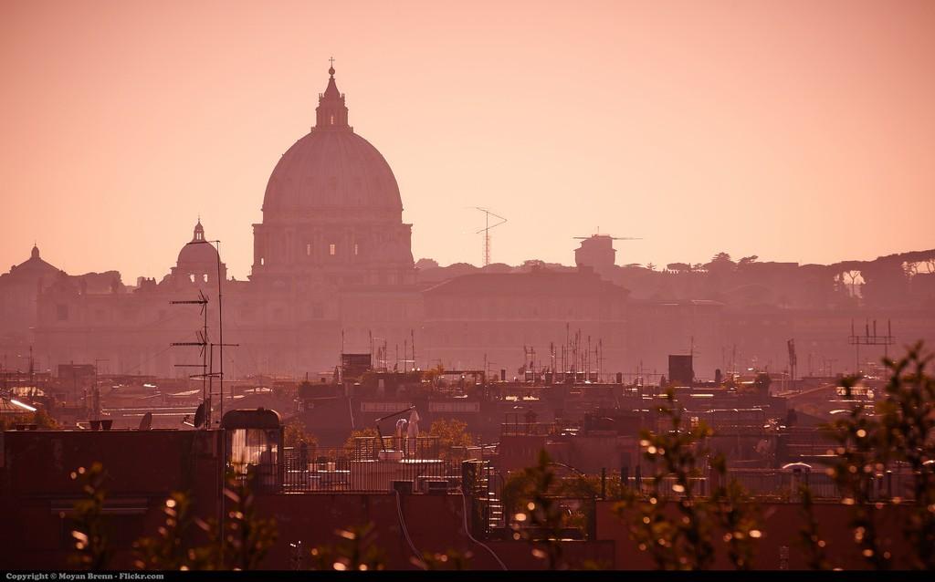 """Тайната на Рим, Куполът на базиликата """"Св. Петър"""""""