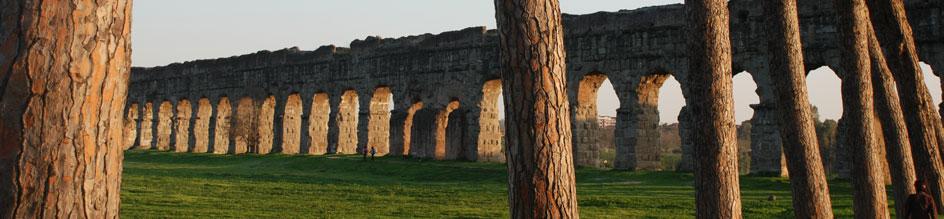 Тайната на Рим, Паркът с аквадукта