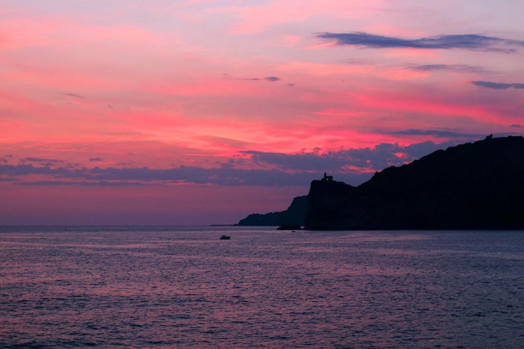 Капри, Иския и Прочида, Марина Гранде на остров Капри, остров Прочида