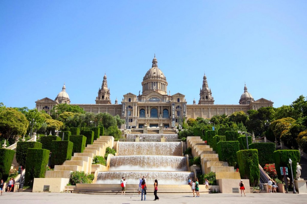 The National museum of Catalonian art, Barcelona.