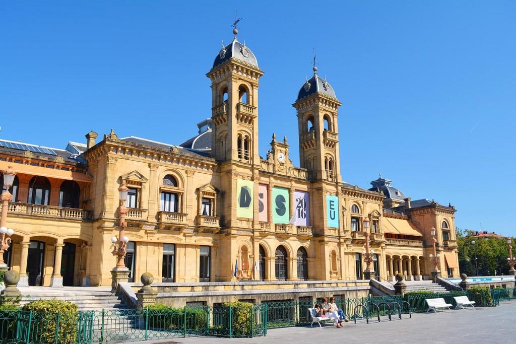 Кметството в Сан Себастиан, бивше казино