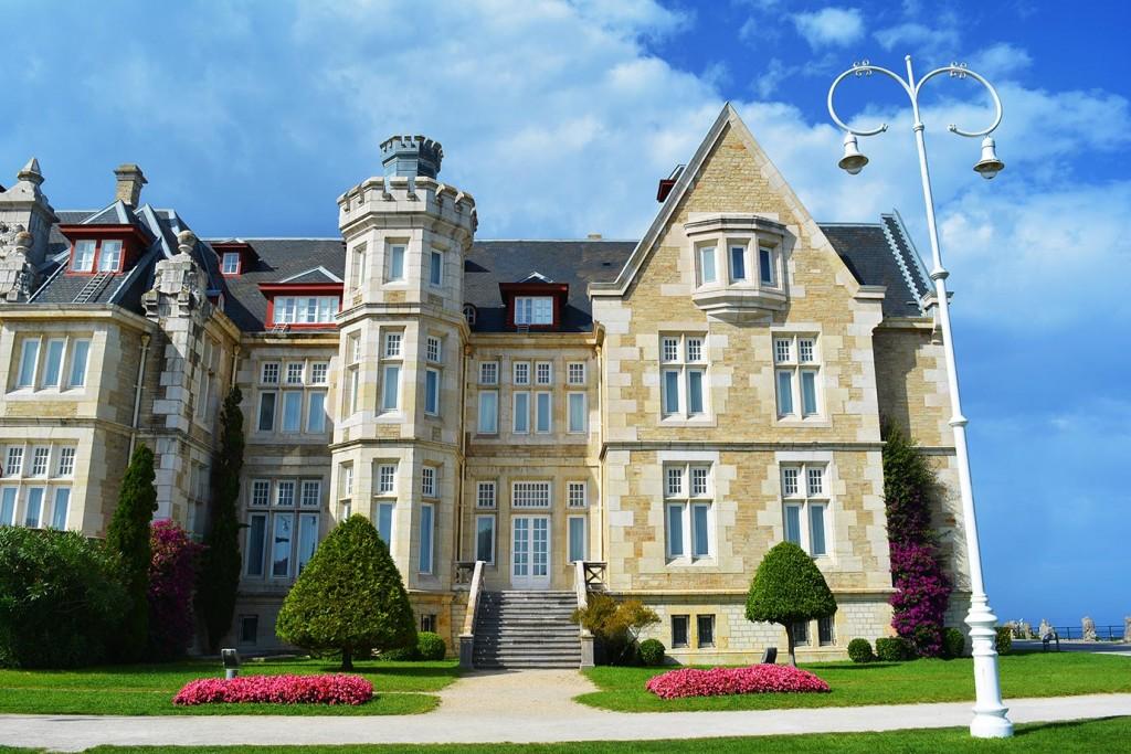 The Magdalena palace, Santander, Spain