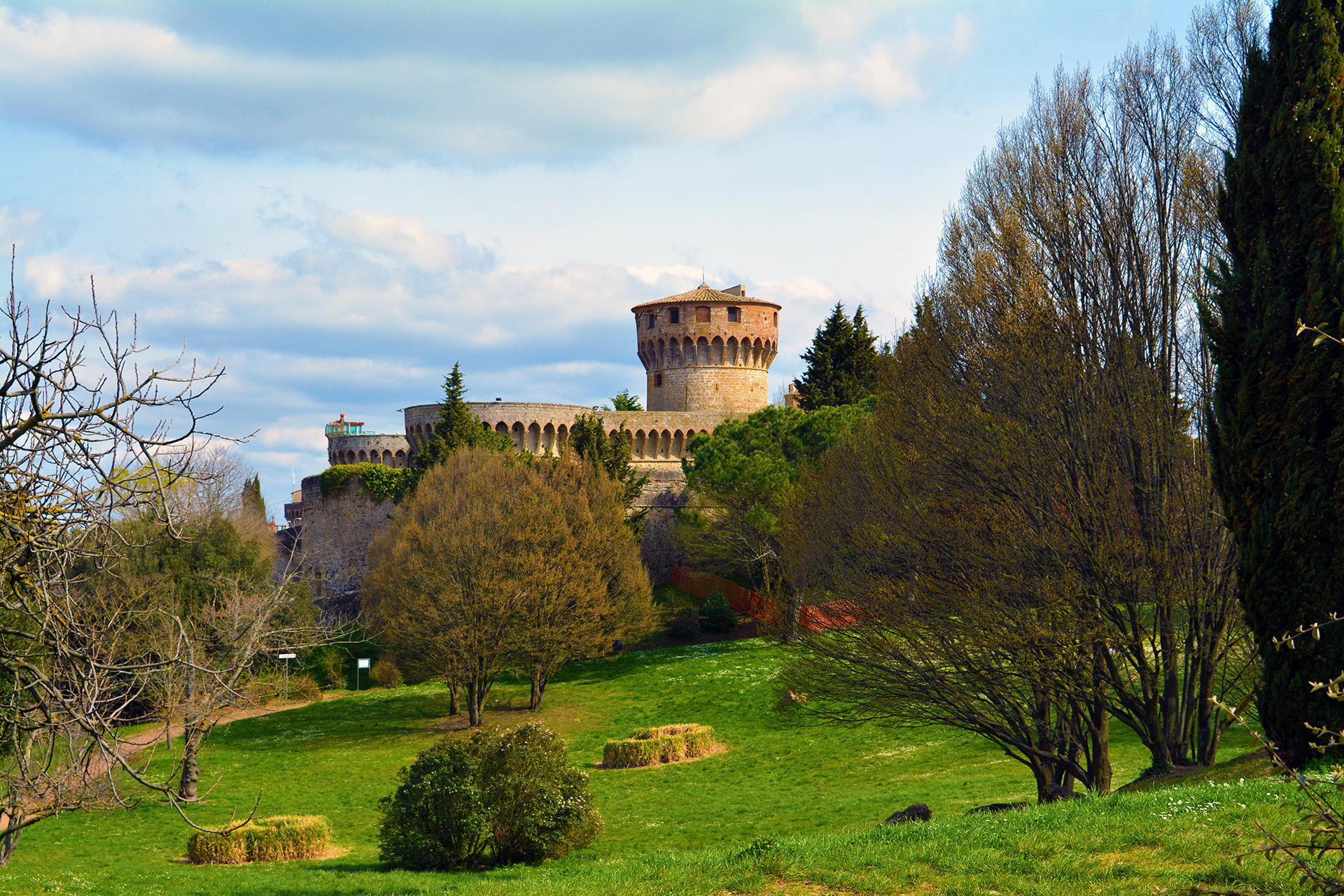 Maschio - a Medici fortress in Volterra, Tuscany. Nowadays it is used as a prison.