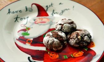 Коледни шоколадови трюфели
