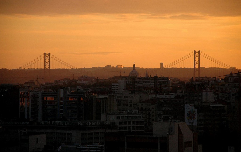 Малкият Лисабон и голямото земетресение, гледка от високо
