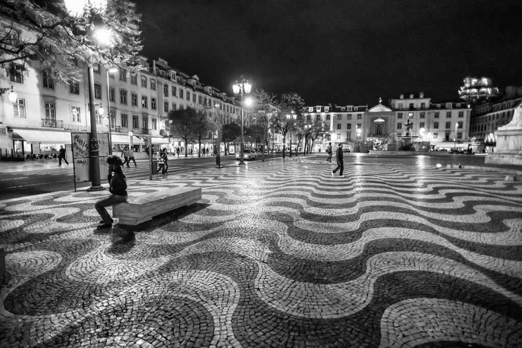 The small Lisbon and the big earthquake, Rossio square