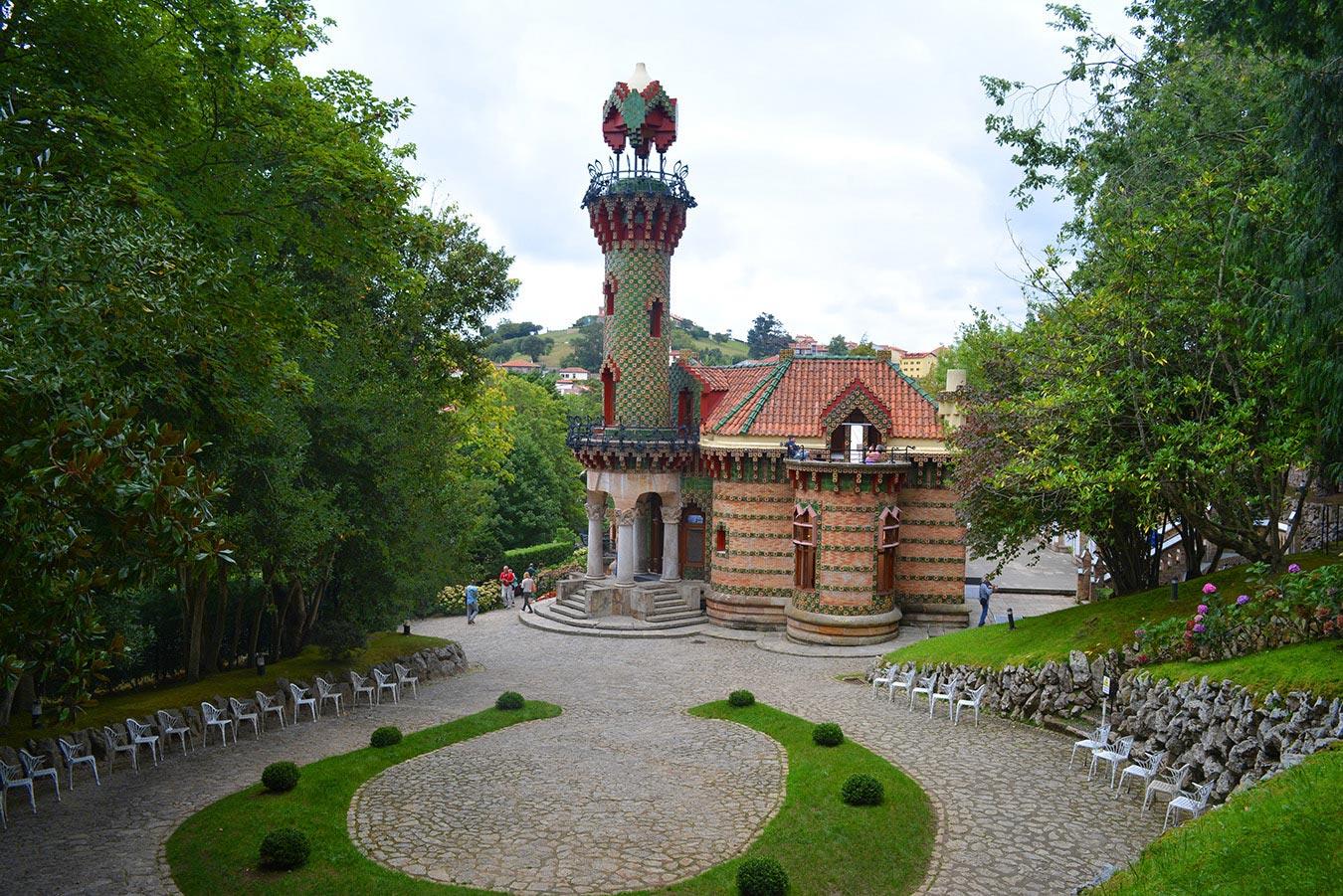 The caprice of Gaudí (El Capricho de Gaudí), Comillas, Cantabria