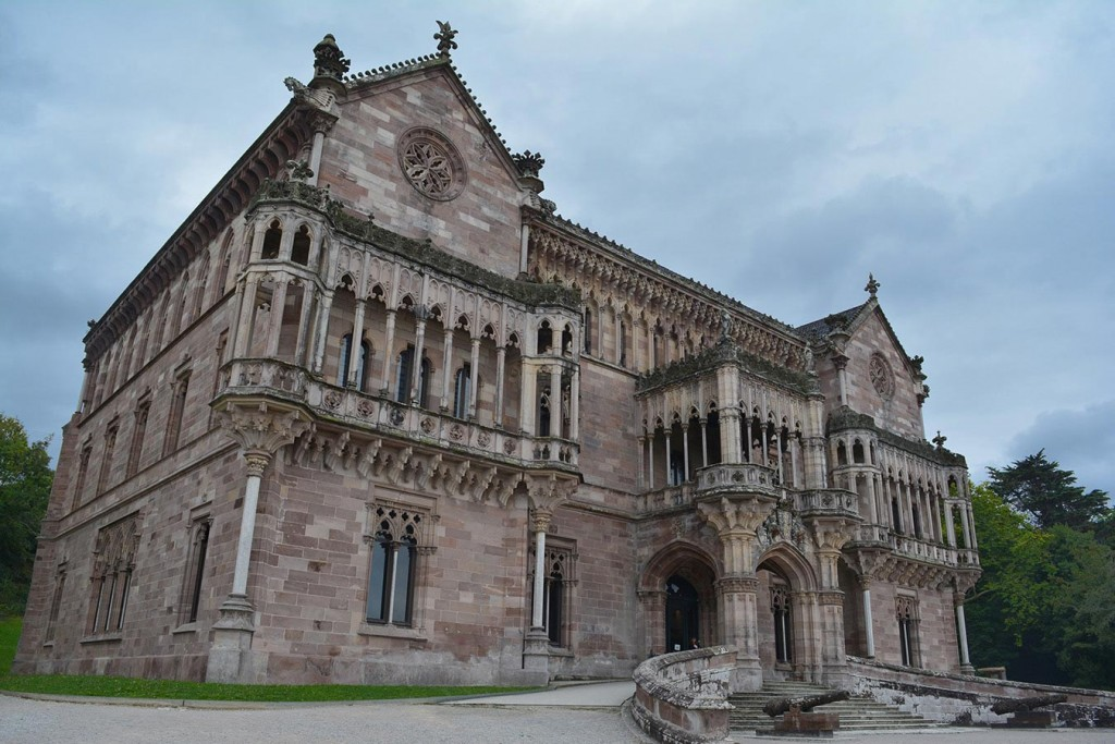 The Sobrellano palace, Comillas, Cantabria
