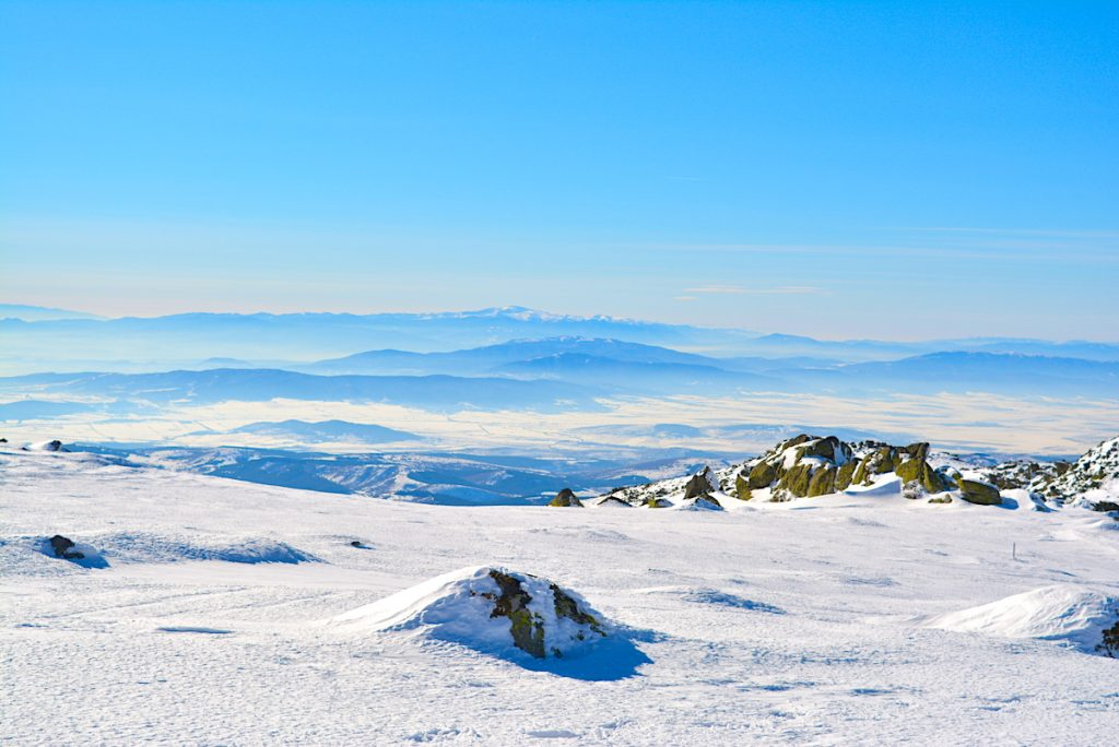 Black peak: Hiking up the highest peak of Vitosha mountain, near Sofia