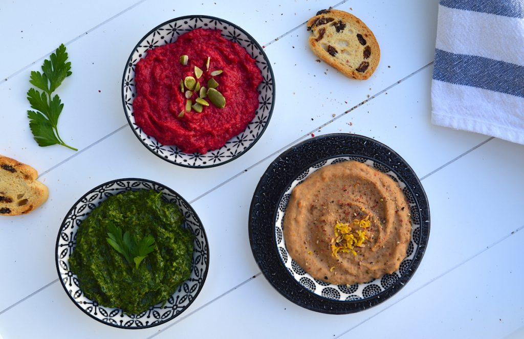 3 vegan dips to compliment any meal